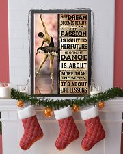 Ballet Her Dream Becomes Reality  11x17 Poster lifestyle-holiday-poster-4