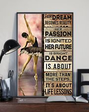 Ballet Her Dream Becomes Reality  11x17 Poster lifestyle-poster-2