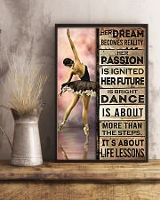 Ballet Her Dream Becomes Reality  11x17 Poster lifestyle-poster-3