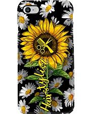 Hairdresser Daisy Sunflower Phone Case i-phone-7-case