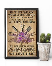 Hairdresser We Love Hair 11x17 Poster lifestyle-poster-8