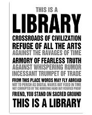 Librarian You Stand On Sacred Ground 11x17 Poster front