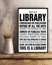 Librarian You Stand On Sacred Ground 11x17 Poster lifestyle-poster-3