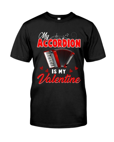 My accordion is my valentine