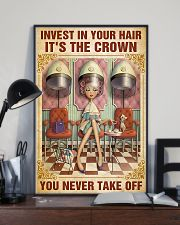 Hairdresser Crown You Never Take Off 11x17 Poster lifestyle-poster-2