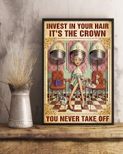 Hairdresser Crown You Never Take Off 11x17 Poster lifestyle-poster-3