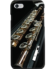3D Art Black Flute  Phone Case thumbnail