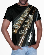 3D Art Black Flute  All-over T-Shirt aos-all-over-T-shirt-lifestyle-front-03
