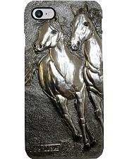 Horse Girl Gift Couple Horses Phone Case i-phone-7-case