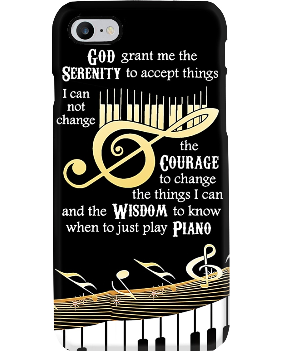 Pianist God Grant Me The Serenity To Accept Things Phone Case