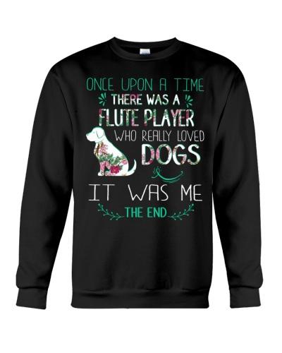 Flute Player Loves Dog