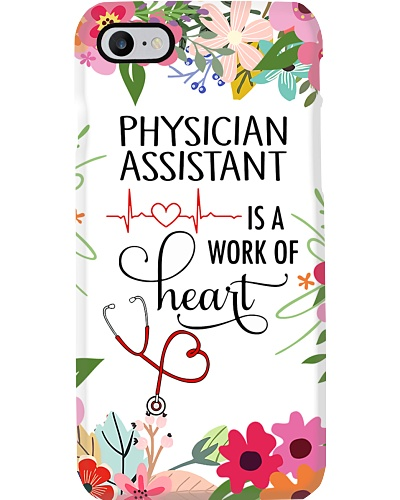 Physician Assistant is a work of heart