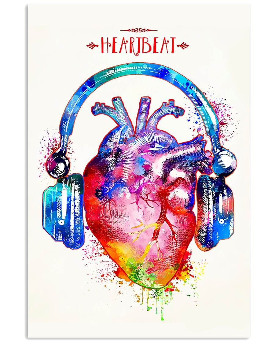 Cardiologist Heartbeat  11x17 Poster