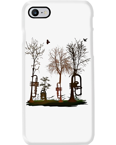 Trumpet Tree Phone case