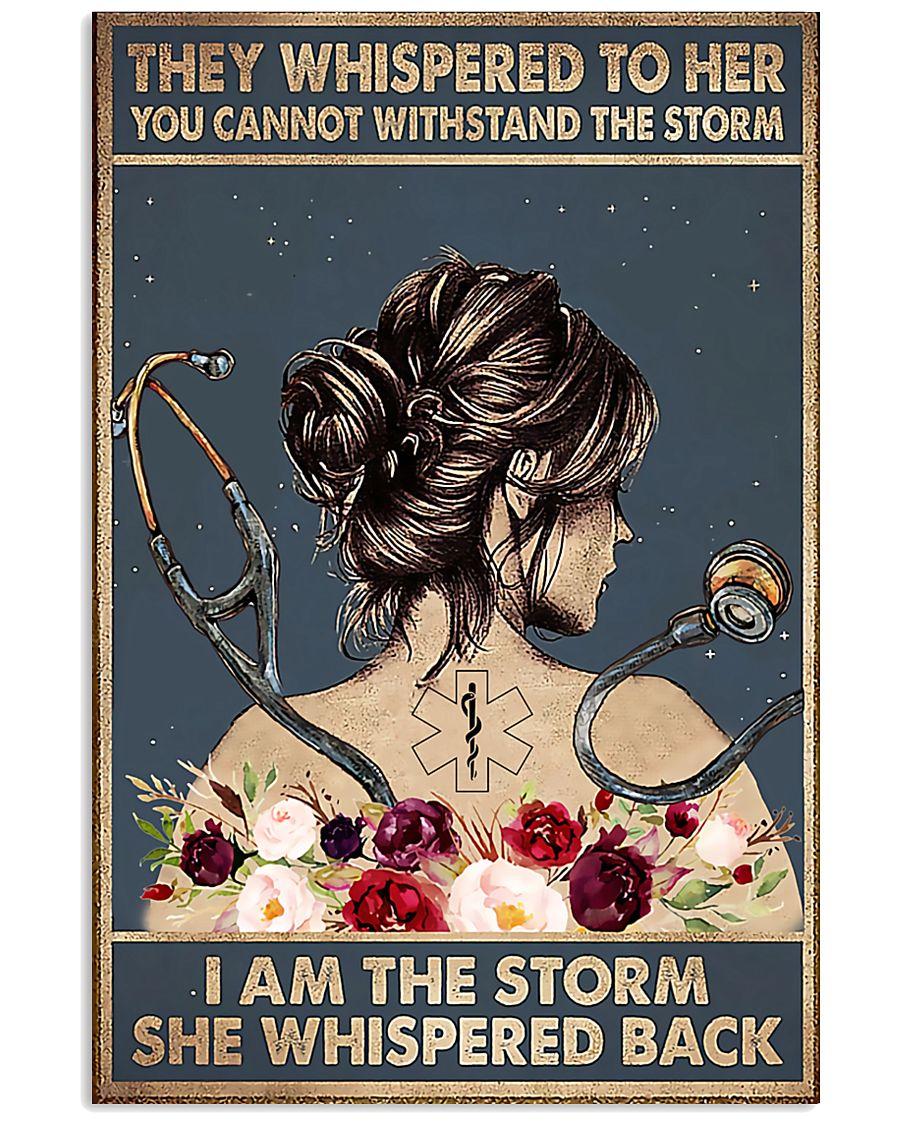 Paramedic I Am The Storm 11x17 Poster