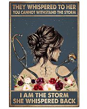 Paramedic I Am The Storm 11x17 Poster front