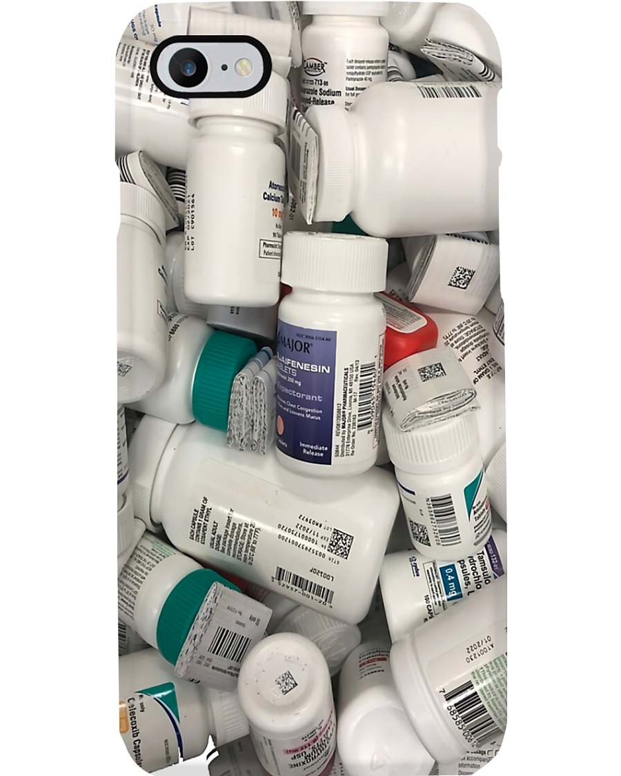 Pharmacy Pill Bottles Phone Case