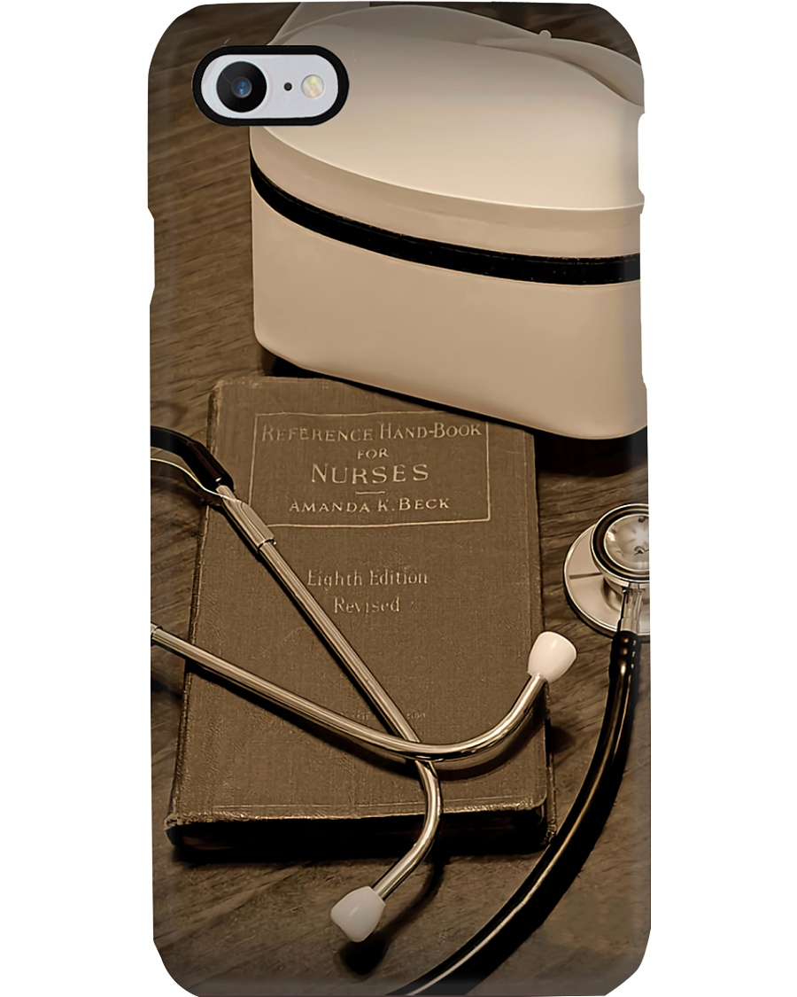 Nurse Gift Stethoscope And Nursing Hat Phone Case
