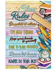 Teachers Class Rules  11x17 Poster front