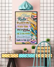 Teachers Class Rules  11x17 Poster lifestyle-poster-6