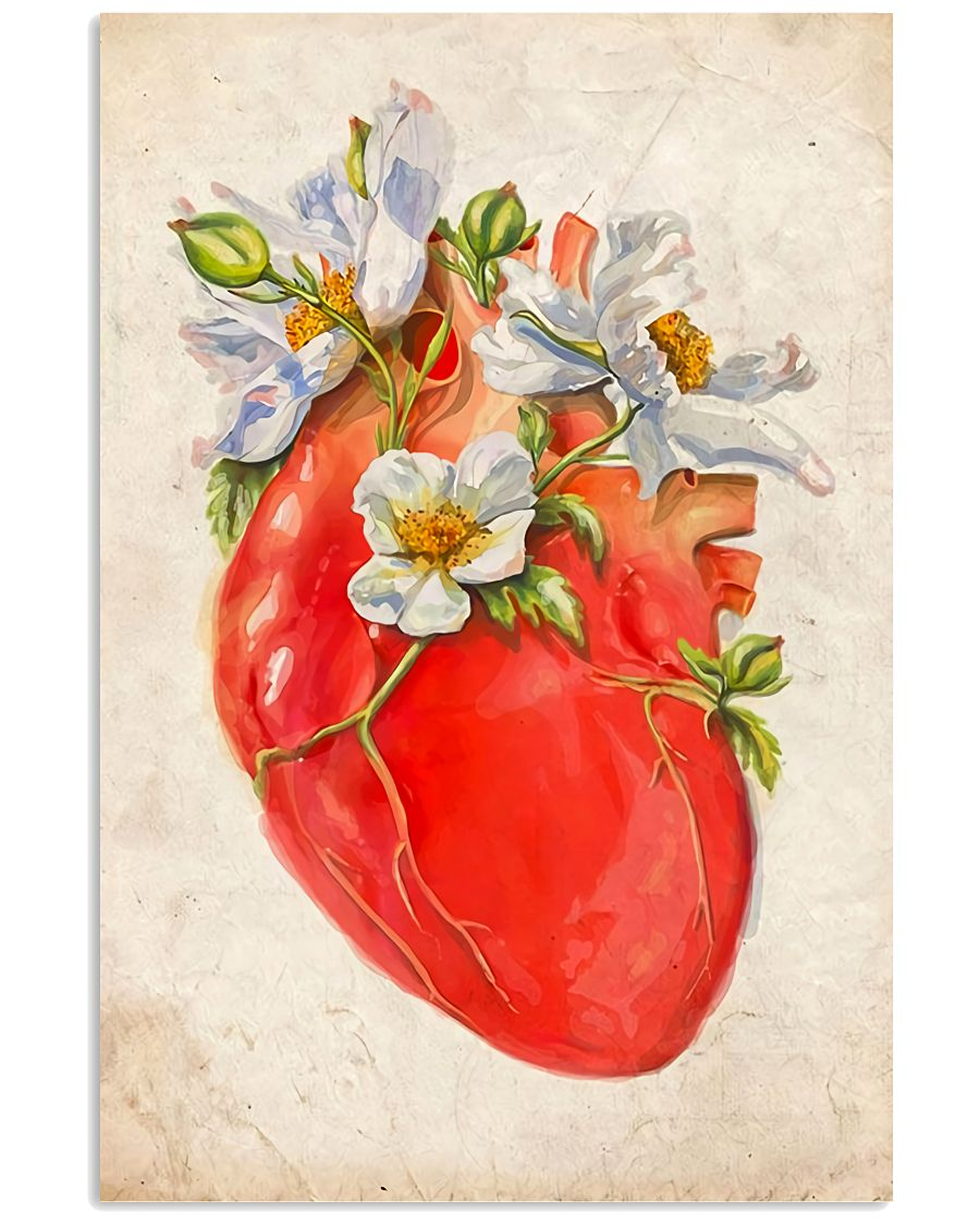 Cardiologist Beautiful Heart 11x17 Poster