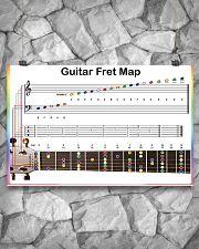 Guitar Fret Map 17x11 Poster poster-landscape-17x11-lifestyle-13