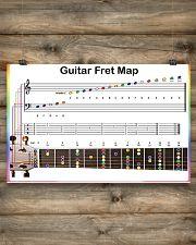 Guitar Fret Map 17x11 Poster poster-landscape-17x11-lifestyle-14