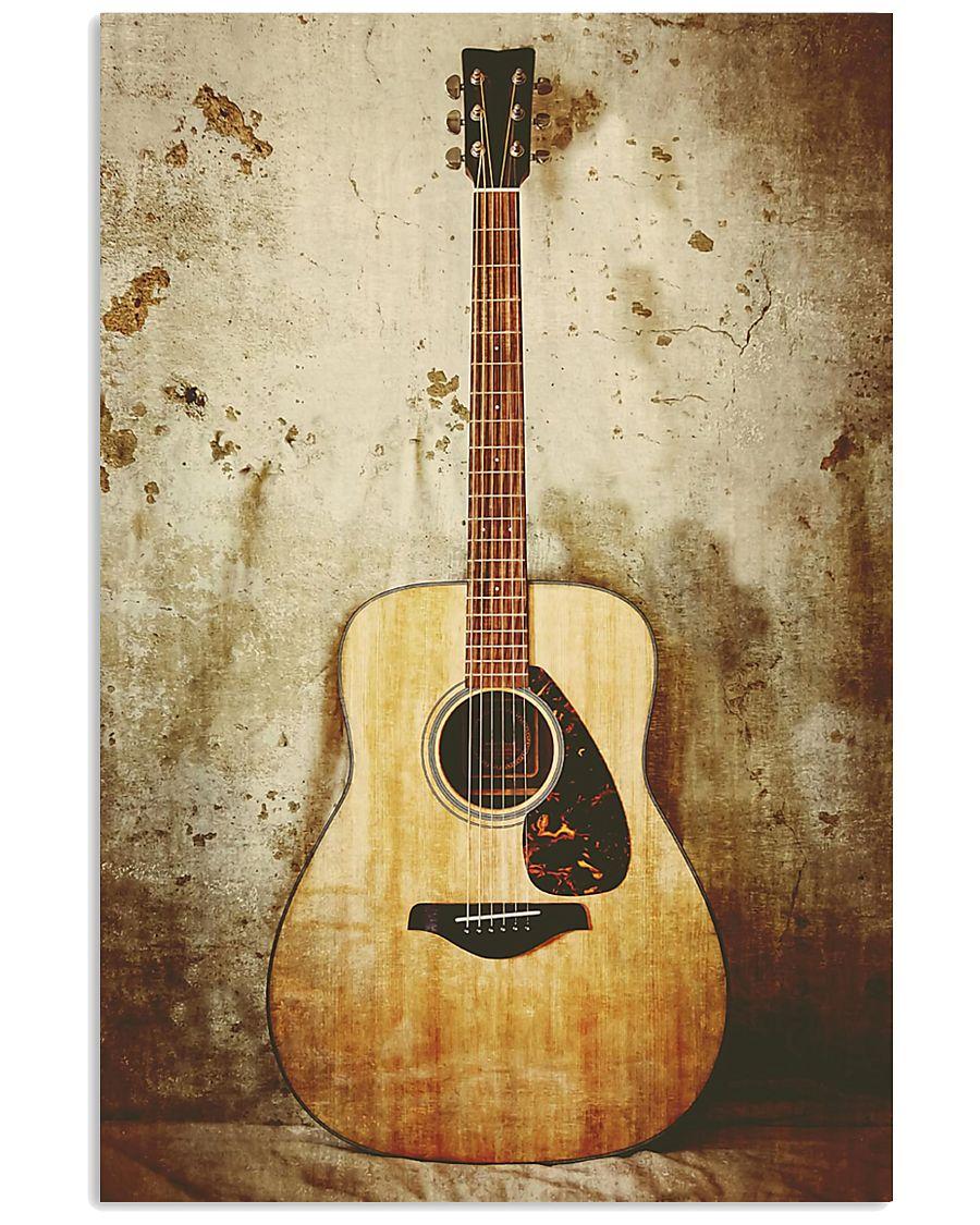 Acoustic Guitar  11x17 Poster