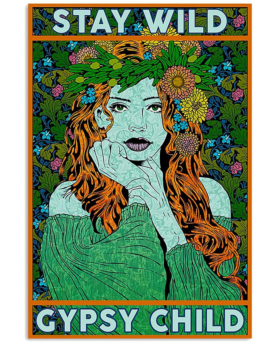Redhead Girl - Stay Wild Gypsy Child 11x17 Poster