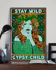 Redhead Girl - Stay Wild Gypsy Child 11x17 Poster lifestyle-poster-2