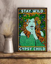 Redhead Girl - Stay Wild Gypsy Child 11x17 Poster lifestyle-poster-3