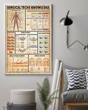 Surgical Techs Knowledge 11x17 Poster lifestyle-poster-1