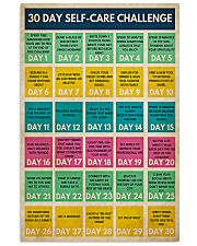 Social Worker 30 Day Self-Care Challenge  11x17 Poster front