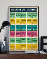 Social Worker 30 Day Self-Care Challenge  11x17 Poster lifestyle-poster-2