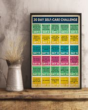 Social Worker 30 Day Self-Care Challenge  11x17 Poster lifestyle-poster-3