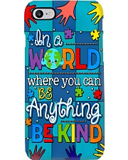 Autism Awareness you can be anything be kind Phone Case i-phone-7-case