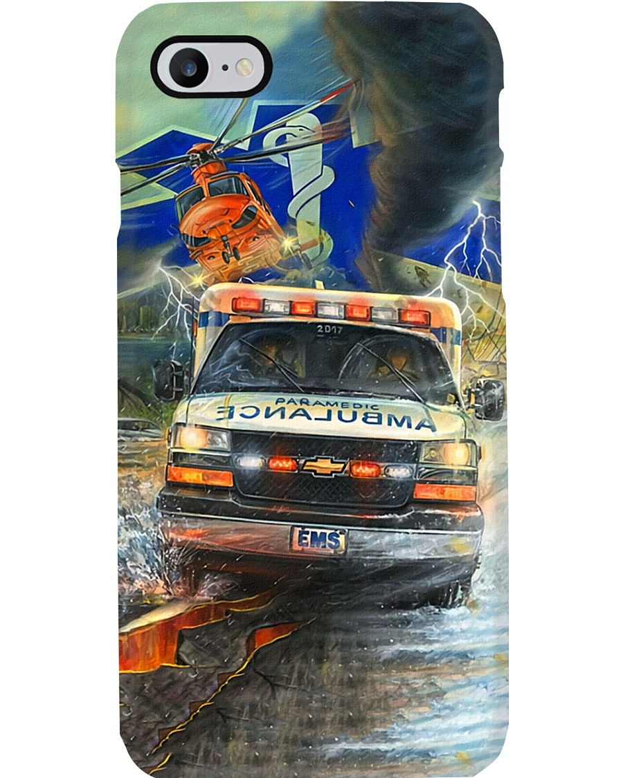 Paramedic Overcome Every Difficulties Phone Case