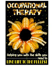 Occupational Therapist Helping You With The Skills 11x17 Poster front