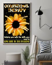 Occupational Therapist Helping You With The Skills 11x17 Poster lifestyle-poster-1