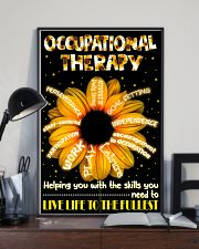 Occupational Therapist Helping You With The Skills 11x17 Poster lifestyle-poster-2