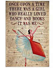 There Was A Girl Who Really Loved Dance And  Books 11x17 Poster front