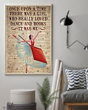 There Was A Girl Who Really Loved Dance And  Books 11x17 Poster lifestyle-poster-1
