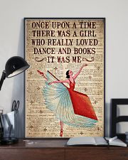 There Was A Girl Who Really Loved Dance And  Books 11x17 Poster lifestyle-poster-2
