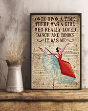 There Was A Girl Who Really Loved Dance And  Books 11x17 Poster lifestyle-poster-3