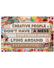Sewing Creative People Don't Have A Mess 17x11 Poster front