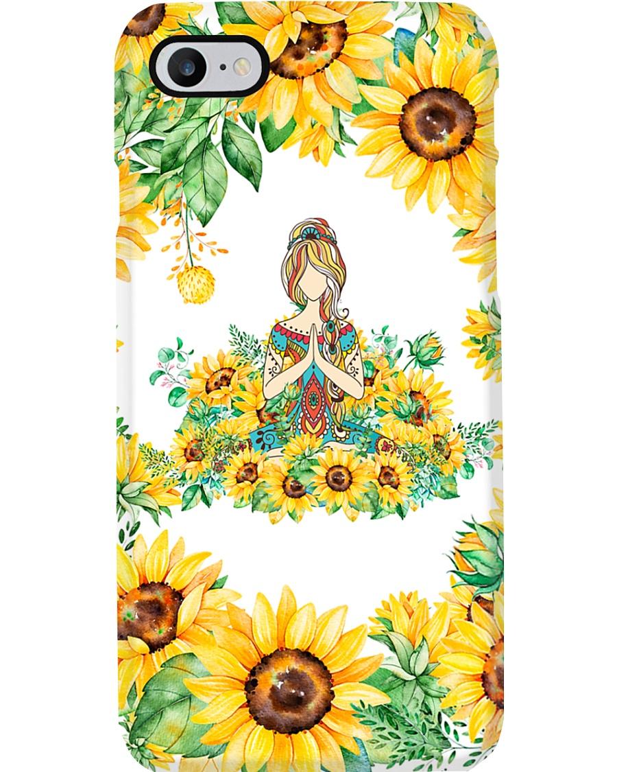 Yoga Sunflower  Phone Case