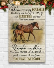 Horse Girl Remember Everything You Have Overcome  11x17 Poster aos-poster-portrait-11x17-lifestyle-23
