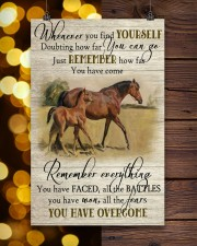 Horse Girl Remember Everything You Have Overcome  11x17 Poster aos-poster-portrait-11x17-lifestyle-24