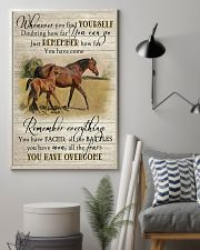 Horse Girl Remember Everything You Have Overcome  11x17 Poster lifestyle-poster-1