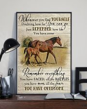 Horse Girl Remember Everything You Have Overcome  11x17 Poster lifestyle-poster-2